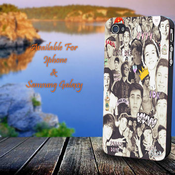 Magcon Boys Collage - Print on hard plastic for iPhone case. Please choose the option.