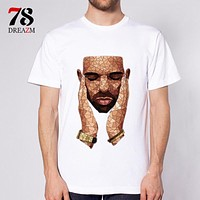 rap music New Fashion rapper O-neck T Shirt Men Trend Casual Men T-Shirt T Shirts