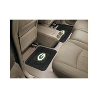 Nfl  Green Bay Packers  Backseat Utility Mats 2 Pack