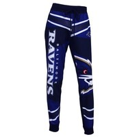 Baltimore Ravens Fanbase Ladies Sublimated Pants