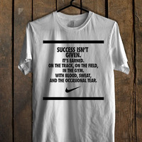 success nike quotes T Shirt Mens T Shirt and Womens T Shirt *