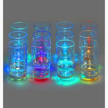 LED Flashing Shot Glasses