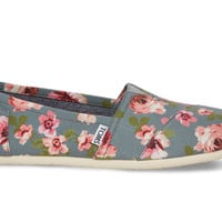 GREY AND PINK FLORAL WOMEN'S CLASSICS