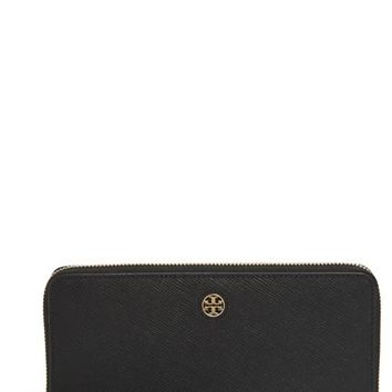 Tory Burch 'Perry' Leather Zip Continental Wallet | Nordstrom