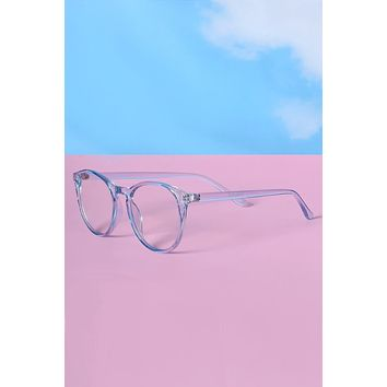 Racquetball Pastel Clear Glasses