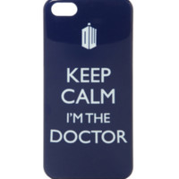 Doctor Who Keep Calm iPhone 5/5S Case