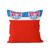 USA Soccer World Cup Crest Pillow