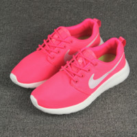 Pink Trendy Fashion Casual Sports Shoes