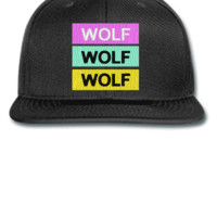 Wolf Odd Future Wolf Gang Tyler The Creator Embroidery - Snapback Hat