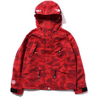 COLOR CAMO SHARK SNOW BOARD JACKET