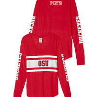 The Ohio State Univeristy Long Sleeve Crew - PINK - Victoria's Secret