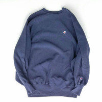 Champion Reverse Weave Sweater Size X-Large Made In USA