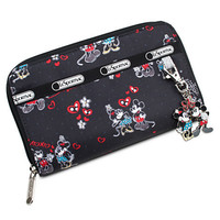Disney Mickey and Minnie Mouse Wallet by LeSportsac | Disney Store