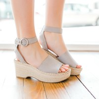 Dolce Vita Lesly Wedges -Grey