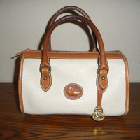 Dooney and Bourke Cream Doctor Handbag