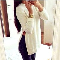 Long-sleeved Pullover Sweater