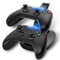 Game accessories for  Xbox One & Slim Dual USB LED Desktop Stand Fast Charger & Charging Cradle for XBOX One Controller