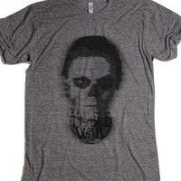 I Prepare For The Noble War-Unisex Athletic Grey T-Shirt