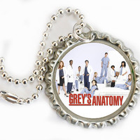 Grey's Anatomy keychains -a choice of 5 different Greys Anatomy keychains, Patrick Dempsey Keychains, Dr. McDreamy keyrings