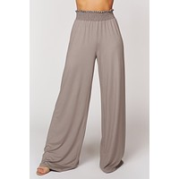 Best In Bold Flare Pants (Mocha)