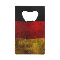 German Flag - Vintage Wallet Bottle Opener