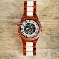 Steampunk Wooden Watch