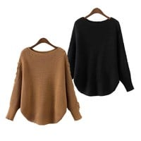 Women's Fashion Sweater Pullover Winter Bottoming Shirt [31069208602]