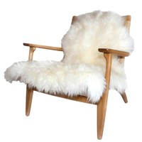 Sheepskin Throw on SUITE NY