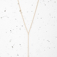 Tooth Pendant Drop Necklace
