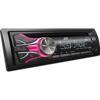 Walmart: JVC In-Dash CD Receiver with USB Port and Dual Auxiliary Input, KDR530