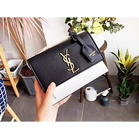 YSL fashion lady Mosaic color casual shoulder bag is a hot seller shopping bag #6