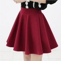 High Waist Flow Skirt