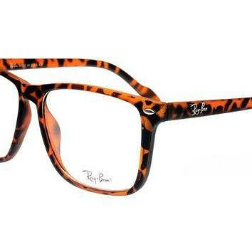 Ray Ban Cats Relax RB4126 Transparent Leopard Sunglasses