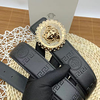 Versace new Medusa buckle fashion men's and women's personalized belts