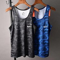 NIKE Fashion Men Women Comfortable Breathable Sport Camouflage Vest Sleeveless Top