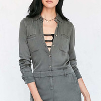 BDG Surplus Button-Down Romper - Urban Outfitters