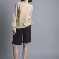 Camel Oversized Knit