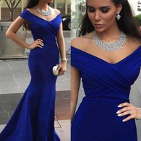 Blue Prom Dresses Mermaid Blue Prom Dress Blue Evening Dresses