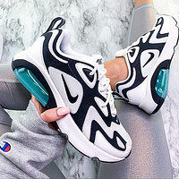 Nike Air Max 200 Sports Air Sneakers Contrast Polyline Print Shoes