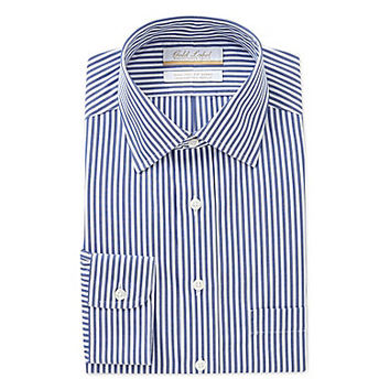 Gold Label Roundtree & Yorke Regular-Fit Spread-Collar Dress Shirt - N