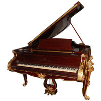 Astonishing Steinway Inlaid Mahogany Piano