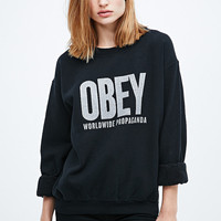 Obey Ogny Sweatshirt in Black - Urban Outfitters