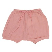 Mouche Baby Girls' Dusty Pink Crinkly Bloomers