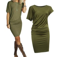 Summer Style Casual Clothing Sexy Vintage Clubwear Evening Party Bandage Bodycon Women's Dresses