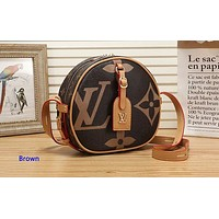 Louis Vuitton Women Fashion Print Small Shoulder Bag Shopping Bag Crossbody