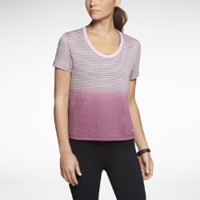 Nike Ombre Stripe DB Women's Shirt - Light Arctic Pink Heather