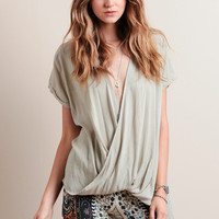 Stroke Of Luck Draped Top