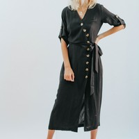 Joshua A Line Button Down Dress
