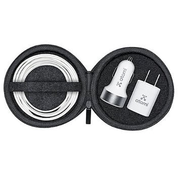 Atomi 3-Piece Charge Kit with Lightning Cable