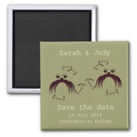 Gay, Loving seals Save the date